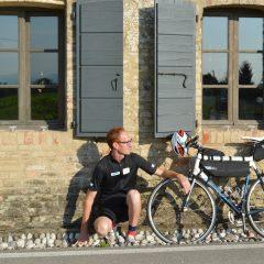 Toppan e la sua bici