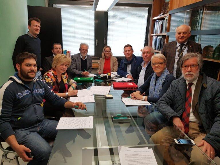 Tempio Internazionale del Donatore ODV Costituzione 2019 AVIS AIDO FRATRES FIDAS