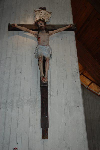 Tempio Internazionale del Donatore - Crocifisso