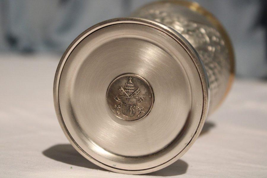 Calice papale donato al Tempio - fondo
