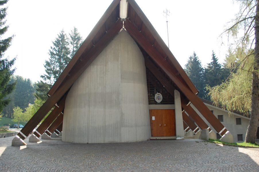 Tempio Internazionale del Donatore - Ingresso