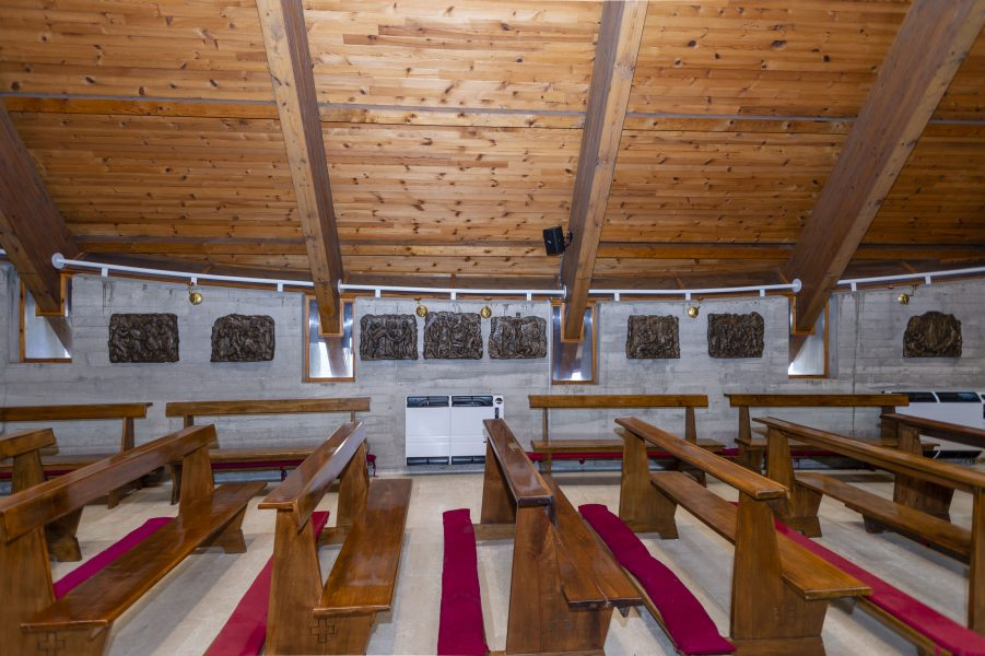 Formelle Via Crucis - Interno